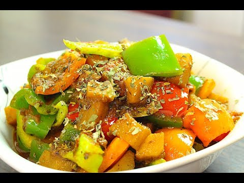 ALOO SHIMLA MIRCH RECIPE *COOK WITH FAIZA*