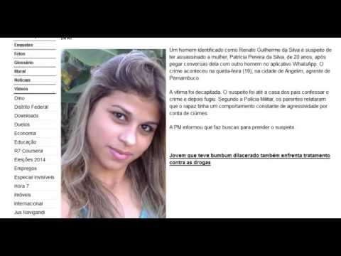 Jovem foi decapitada em Pernambuco