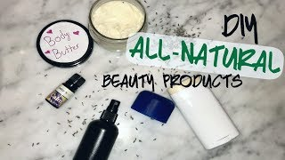 DIY: Healthy, Natural Vegan Beauty Products!