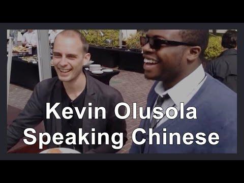 Kevin Olusola Speaking Chinese