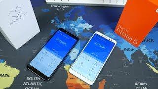 Что купить Xiaomi Redmi Note 5 или Asus ZenFone 5 Lite в 2018 году?