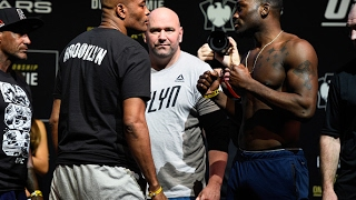 UFC 208: Encarada entre Anderson Silva e Derek Brunson