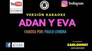 Adan Y Eva   Paulo Londra (Karaoke)