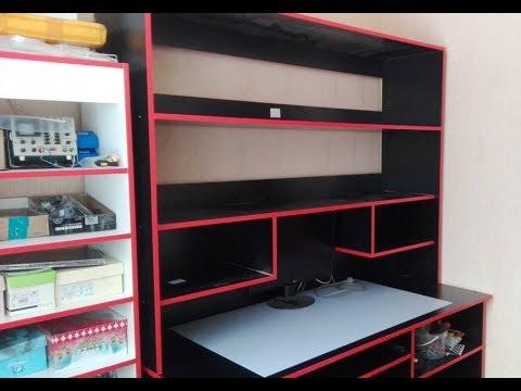 Рабочее место для ремонта электроники, стол мастерской своими руками