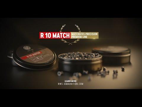 rws-munition: Das Diabolo-Portrait: RWS R10 Match – ein halbes Gramm Blei, fachkundig geformt, hilft beim Medaillen-Sammeln