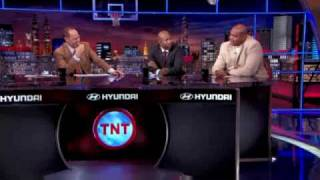 Charles Barkley complaining on hatton getting knocked out early