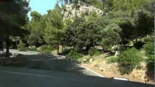 preview picture of video 'Westküste Ma-10 vor Estellencs, Mallorca 2012'