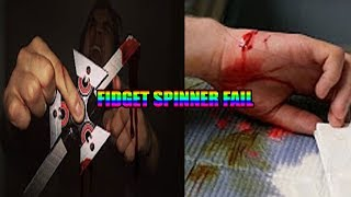 Top 5 INSANE Fidget Spinner Injuries (FIDGET SPINNER VS TONGUE)