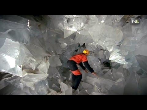La búsqueda de agua en Marte encuentra un aliado en los minerales de la geoda de Pulpí