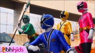 Siêu Nhân Thần Kiếm Tập 1 Full HD - 5 kiếm sĩ xuất hiện