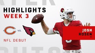 Every Josh Rosen Play in NFL Debut | Kholo.pk