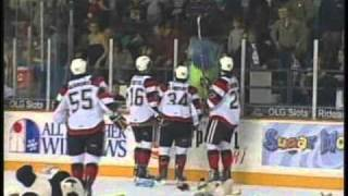Travis Gibbons Teddy Bear Goal 67's vs Bulls Dec. 3, 2010.wmv