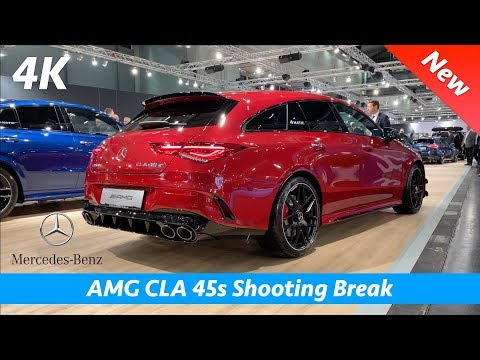 Mercedes-AMG CLA 45 S Shooting Brake 2020 - FIRST Exclusive look in 4K | Interior - Exterior