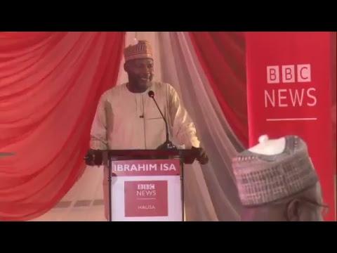 BBC NEWS HAUSA MUHAWARAR 'YAN TAKARAR GWAMNA ZABEN 2019