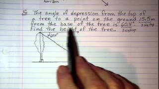 Angles Of Elevation Or Depression