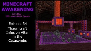 Thaumcraft 6 Alchemy Setup
