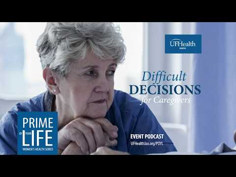 Difficult Decisions for Caregivers (Podcast)
