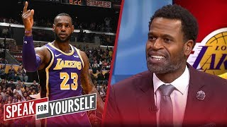 Stephen Jackson: 'It's a big feat' for LeBron to pass MJ in scoring | NBA | SPEAK FOR YOURSELF