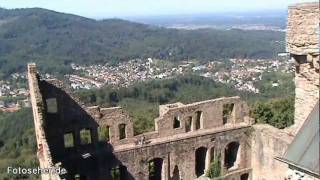 preview picture of video 'Baden-Baden: Schloss Hohenbaden (Altes Schloss)'