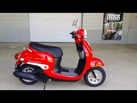 2016 Honda Metropolitan 50cc Scooter / Red | Walk-Around Video | Review at HondaProKevin.com