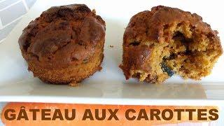 Gâteau de carottes (aquafaba)