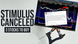 WHY THE STOCK MARKET WENT DOWN TODAY - My Watchlist - 3 STOCKS TO BUY NOW!!