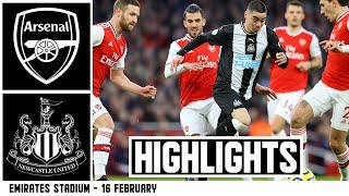 Arsenal 4 Newcastle United 0: Brief Highlights