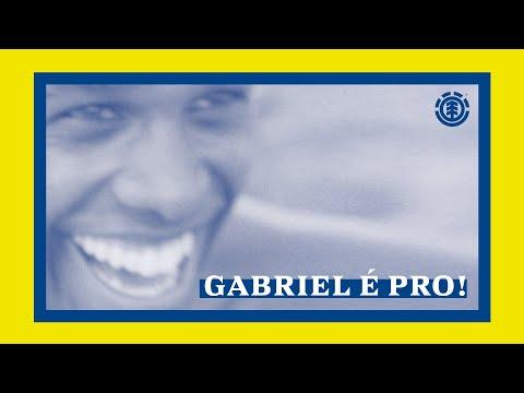 """Image for video Element Skateboards """"Gabriel É Pro!"""" Part"""