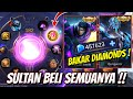 SULTAN BAKAR BAKAR DIAMONDS DEMI DAPATIN SKIN LEGEND HABISIN SEMUA DIAMONDS