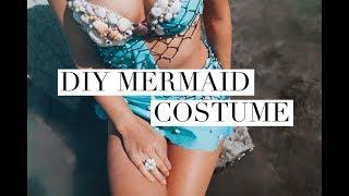 DIY MERMAID COSTUME - Halloween(2018)