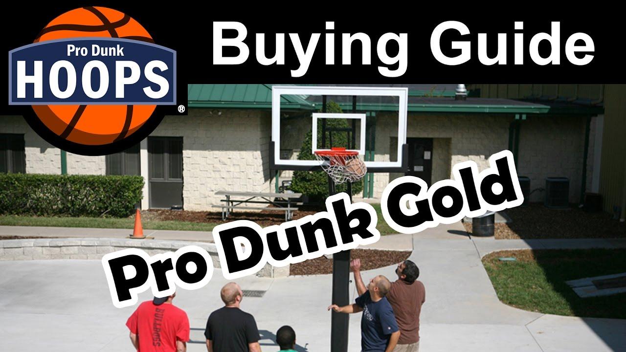 Pro Dunk Gold Basketball System