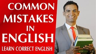 common English Mistakes  How to learn English speaking and grammar by M. Akmal | The Skill Sets