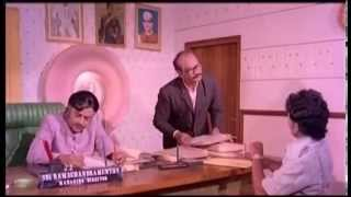 Thillu Mullu│Thengai Sreenivasan Innterviewed Rajini│Comedy Scene