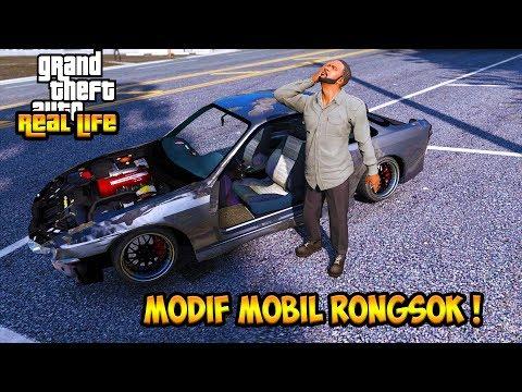SULTAN MODIF MOBIL RONGSOK JADI MOBIL DRIFT !! || GTA 5 MOD DUNIA NYATA (GTA 5 REAL LIFE)