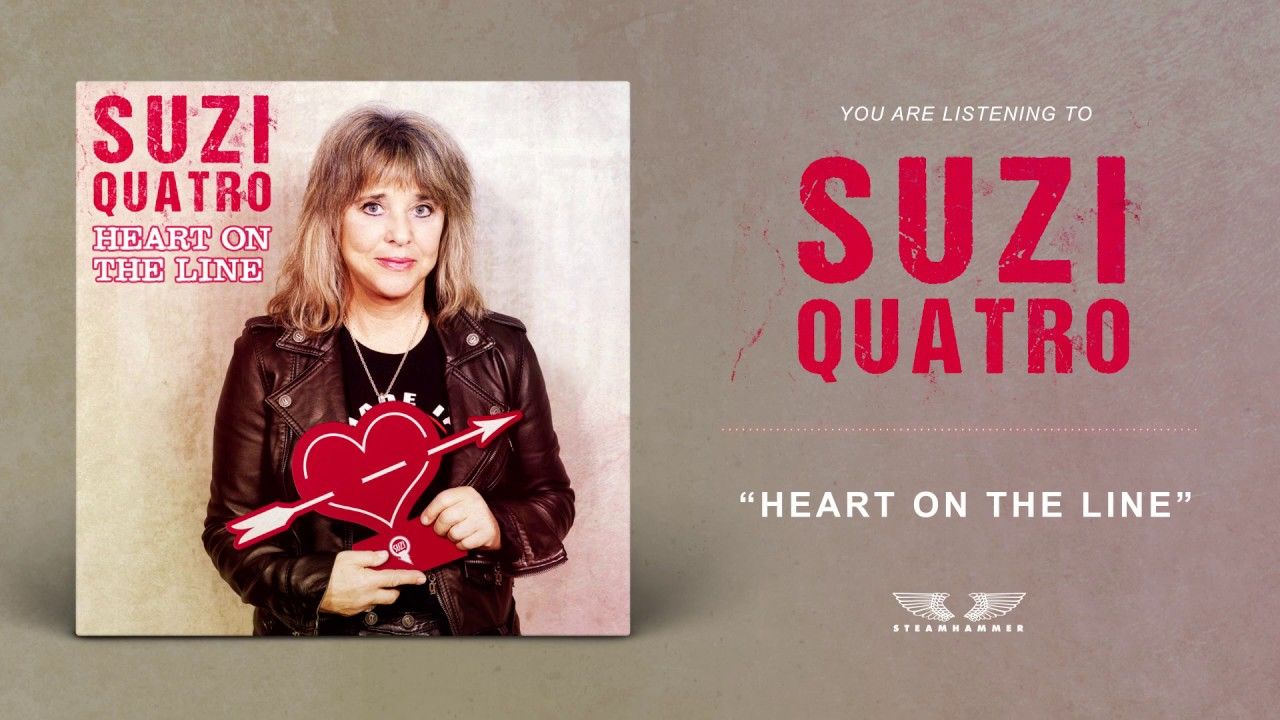 SUZY QUATRO - Heart of the line