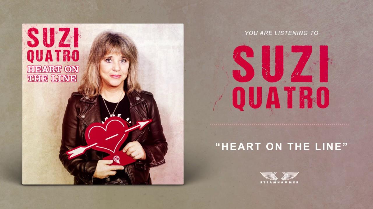 SUZY QUATRO - Heart of the line