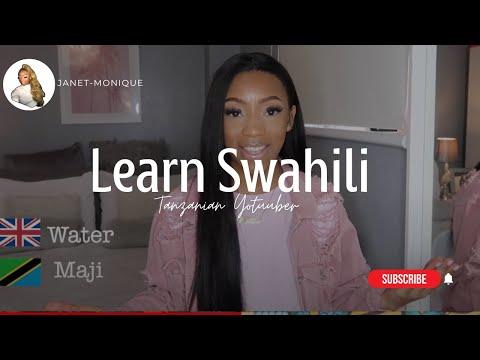 Learn to speak SWAHILI in 5 MINS !! ft Nadula Hair | Tanzanian Youtuber