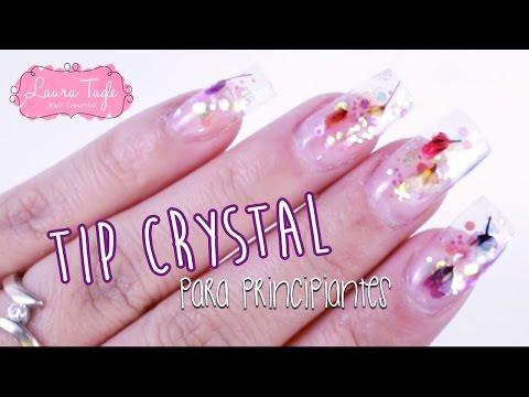Uñas de Acrílico para Principiantes / Tip Crystal