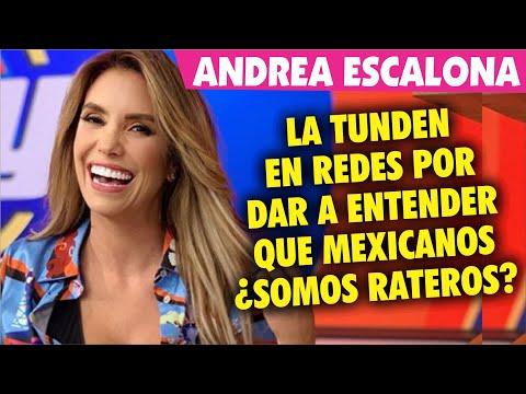 Andrea Escalona es CRITICADA en Homenaje a José José por decir &quotEspero no me quiten mi celular&quot