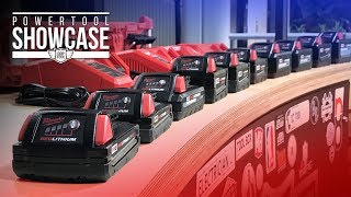 The Entire Selection Of Milwaukee M18 Batteries EXPLAINED! Coptool Power Tool Showcase