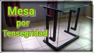 DIY Mesa Por TENSEGRIDAD ( Tensegrity Table )