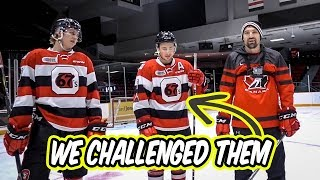 We Challenged two NHL Prospects