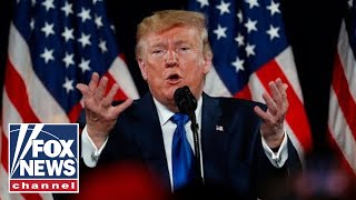 Trump delivers remarks on healthcare amid impeachment proceedings