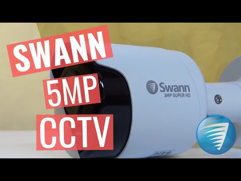 Swann 5MP CCTV security system Review Unboxing Setup Installation DVR-4980 resolution comparison