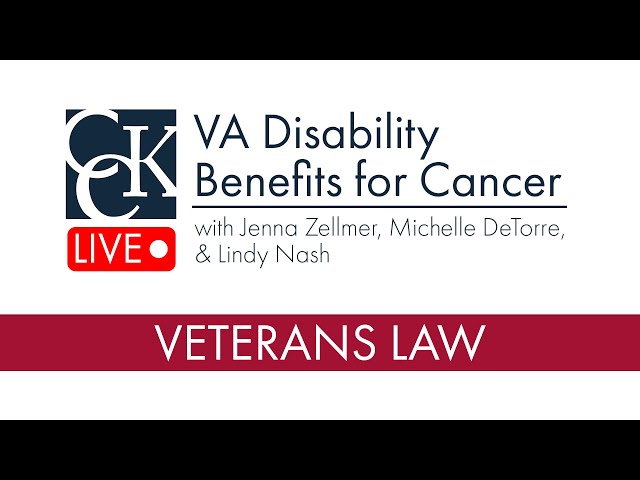 VA Disability Benefits for Cancer