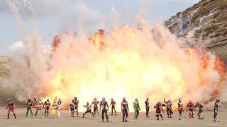 Trailer of Kamen Rider Heisei Generations FOREVER (2018)