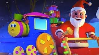 รถไฟขบวน | ระฆังกริ๊ง | คริสต์มาสคริสต์มาสสำหรับเด็ก | Bob Train Song | Jingle Bell | Xmas For Kids