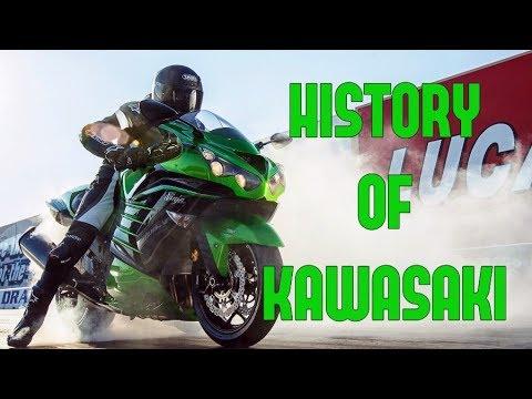 Kawasaki Motorcycles - History | Full Documentary