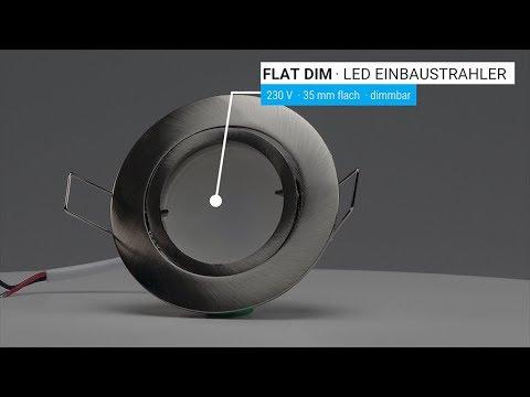LED Einbaustrahler flach ARTLIGHT FLAT DIM 230V - dimmbar
