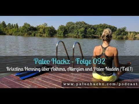Krisztina Henning über Asthma, Allergien und Paleo Nudeln